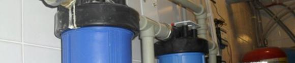 Магистральные и проточные фильтры для очистки воды