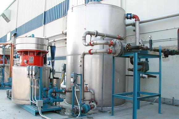 система повторного использования технической воды