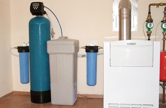 фильтр умягчения воды в котельной
